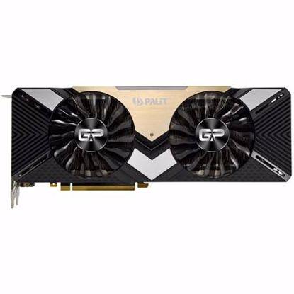 Fotografija izdelka PALIT GeForce RTX 2080 Ti Dual 11GB GDDR6 (NE6208T020LC-150A) grafična kartica