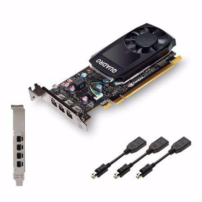 Fotografija izdelka PNY QUADRO P400 DP 2GB GDDR5 (VCQP400-PB) retail profesionalna grafična kartica