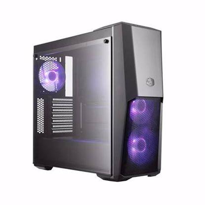Fotografija izdelka COOLER MASTER MasterBox MB500 RGB midiATX (MCB-B500D-KGNN-S00) črno ohišje