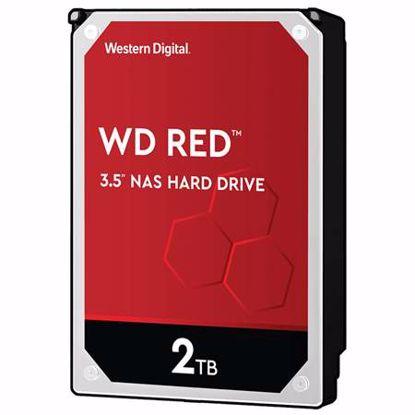 """Fotografija izdelka WD Red NAS 2TB 3,5"""" SATA3 256MB (WD20EFAX) trdi disk"""