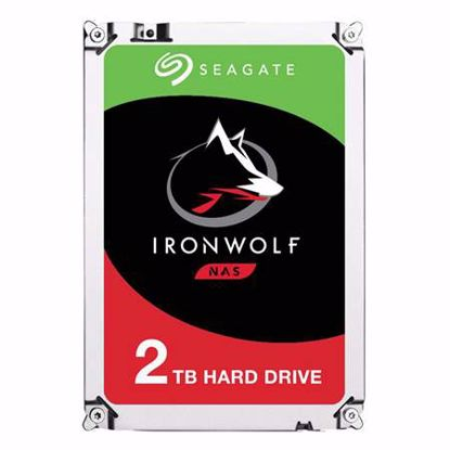 Fotografija izdelka SEAGATE IronWolf NAS 2TB 3,5'' SATA3 64MB 5900rpm (ST2000VN004) trdi disk