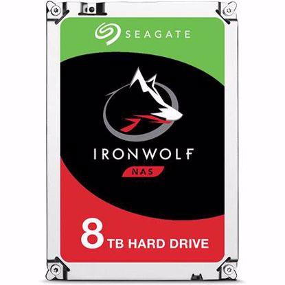 Fotografija izdelka SEAGATE IronWolf NAS 8TB 3,5'' SATA3 256MB 7200rpm (ST8000VN004) trdi disk