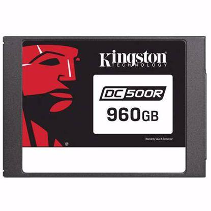 Fotografija izdelka KINGSTON Data Center DC500 Enterprise (Read-Centric) 960GB 2,5'' SATA3 NAND 3D TLC (SEDC500R/960G) SSD