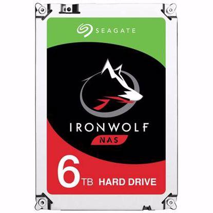 Fotografija izdelka SEAGATE IronWolf NAS 6TB 3,5'' SATA3 256MB 7200rpm (ST6000VN0033) trdi disk