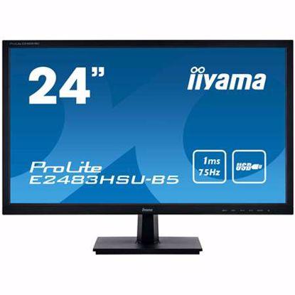 Fotografija izdelka IIYAMA ProLite E2483HSU-B5 60,96cm (24'') TN FHD 1ms USB zvočniki črn LED LCD monitor