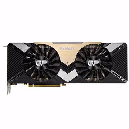 Fotografija izdelka PALIT GeForce RTX 2080 Ti GamingPro OC 11GB GDDR6 (NE6208TS20LC-150A) grafična kartica