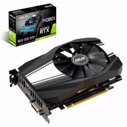 Fotografija izdelka ASUS Phoenix GeForce RTX2060 6GB GDDR6 (PH-RTX2060-6G) grafična kartica