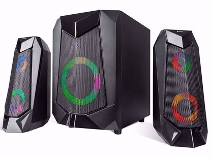 Fotografija izdelka Zvočniki TRACER 2.1 Hi-Cube RGB Flow BLUETOOTH