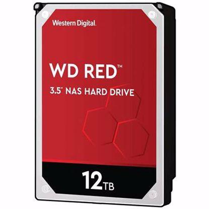 """Fotografija izdelka WD Red 12TB 3,5"""" SATA3 256MB 5400rpm (WD120EFAX) trdi disk"""