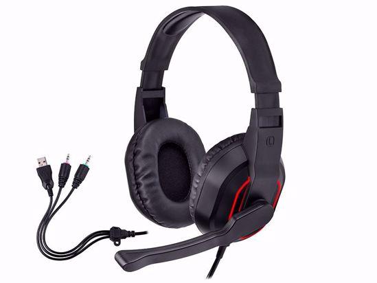 Fotografija izdelka Slušalke Gaming TRACER GAMEZONE Radian RGB FLOW
