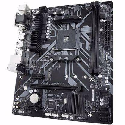 Fotografija izdelka GIGABYTE B450M S2H AM4 microATX DDR4 RGB osnovna plošča
