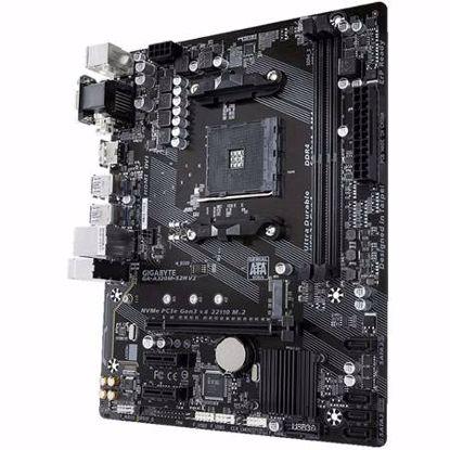 Fotografija izdelka GIGABYTE GA-A320M-S2H V2 AM4 mATX DDR4 gaming osnovna plošča