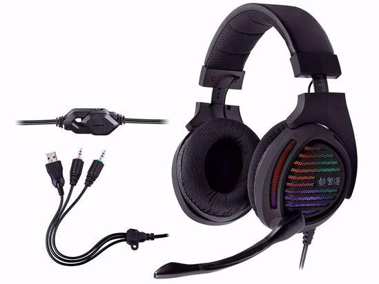 Fotografija izdelka Slušalke Gaming TRACER GAMEZONE Aligator RGB LED