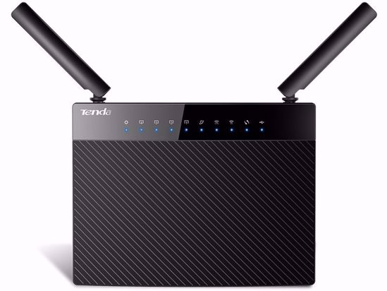 Fotografija izdelka Usmerjevalnik TENDA AC9 Dual-band 2,4GHz/5GHz, AC1200, Gigabit LAN,USB