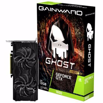 Fotografija izdelka GAINWARD GeForce GTX 1660 Ghost OC 6GB GDDR5 (NE51660S18J9-1161X) gaming grafična kartica