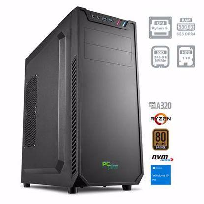 Fotografija izdelka PCPLUS Magic Ryzen 5 3400G 8GB 256GB NVMe SSD 1TB HDD Windows 10 Pro