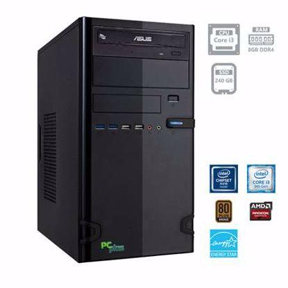 Fotografija izdelka PCPLUS Storm i3-9100F 8GB 240GB SSD Radeon R5 230 1GB DOS