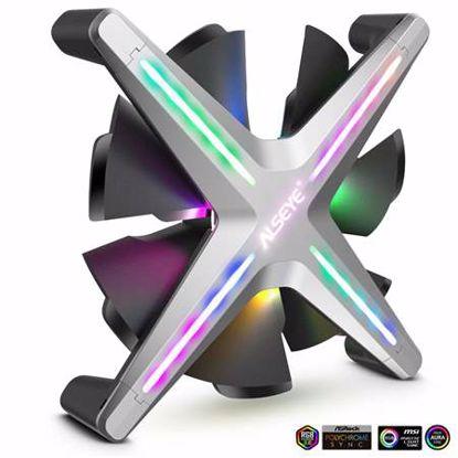 Fotografija izdelka INTER-TECH Alseye X12 Fan RGB 120mm ventilator