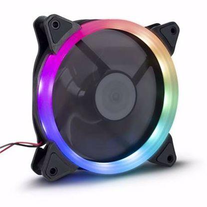 Fotografija izdelka INTER-TECH ARGUS RS-051 RGB 120mm ventilator