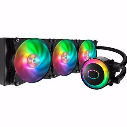 Fotografija izdelka COOLER MASTER MasterLiquid ML360R RGB LED vodno hlajenje za procesor