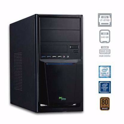 Fotografija izdelka PCPLUS e-office i7-8700 8GB 240GB SSD DOS