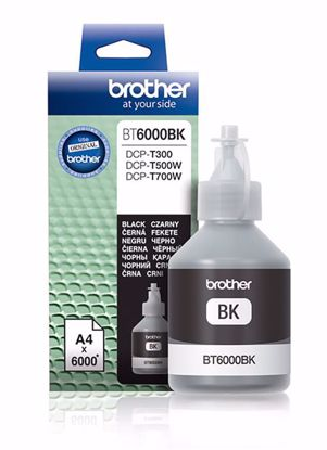 Fotografija izdelka Brother Kartuša BT6000BK, črna, 6.000 strani DCPT300, DCPT500W, DCPT700W