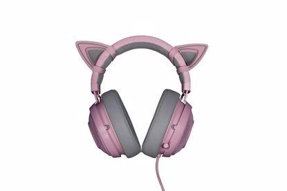 Fotografija izdelka Mačja ušesa za Razer Kraken Quartz slušalke