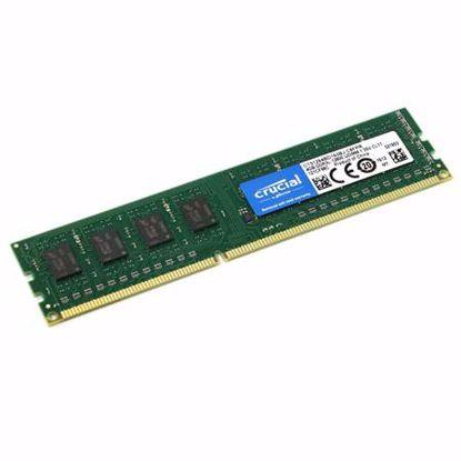 Fotografija izdelka CRUCIAL 8GB 1600MHz 1,35V DDR3L (CT102464BD160B) ram pomnilnik