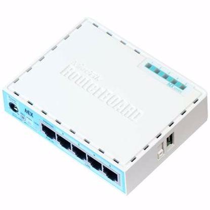 Fotografija izdelka MIKROTIK hEX RB750GR3 5-port gigabit usmerjevalnik-router