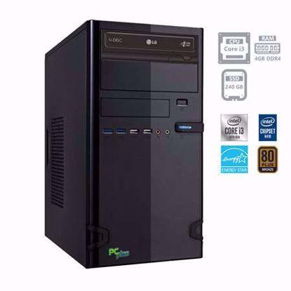 Fotografija izdelka PCPLUS e-office i3-10100 4GB 240GB SSD W10PRO