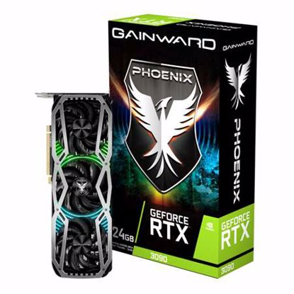 Fotografija izdelka GAINWARD GeForce RTX 3090 Phoenix 24GB GDDR6X RGB gaming grafična kartica