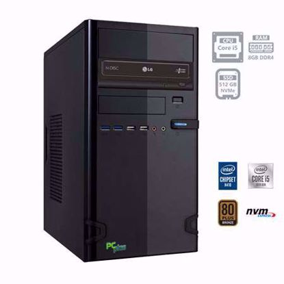 Fotografija izdelka PCPLUS e-office i5-10400 8GB 512GB NVMe SSD W10PRO
