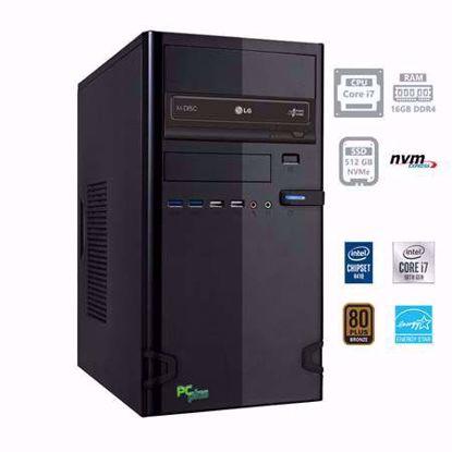 Fotografija izdelka PCPLUS e-office i7-10700 16GB 512GB NVMe SSD W10PRO