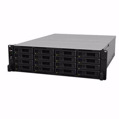 Fotografija izdelka SYNOLOGY RS4017XS+ za 16 diskov rack 3U NAS strežnik
