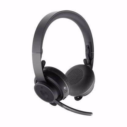 Fotografija izdelka LOGITECH ZONE WIRELESS brezžične Bluetooth Active Noise Cancelling mikrofon črne slušalke