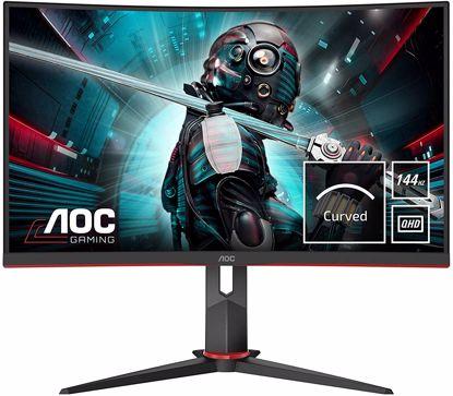Fotografija izdelka AOC CQ27G2U 27'' ukrivljen gaming monitor