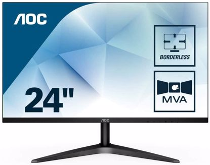 "Fotografija izdelka AOC 24B1H 23,6"" MVA monitor"