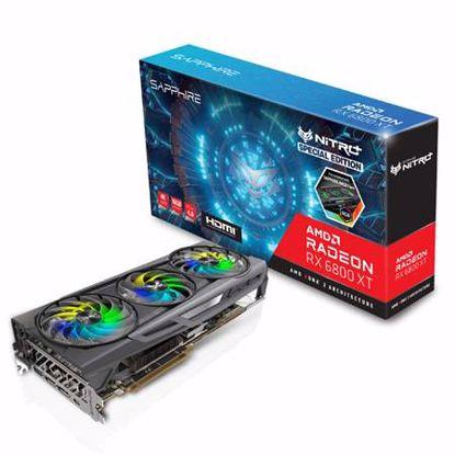 Fotografija izdelka SAPPHIRE NITRO+ AMD Radeon RX 6800 XT SE 16GB GDDR6 AMD RDNA 2 gaming grafična kartica