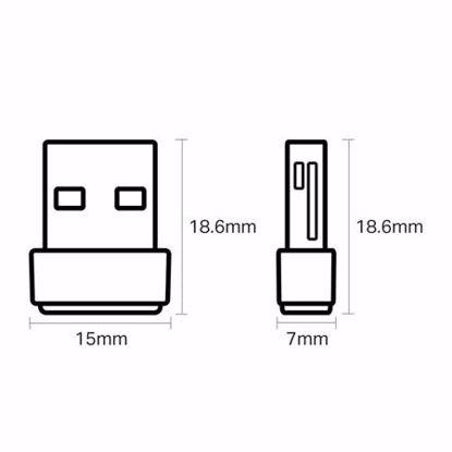 Fotografija izdelka TP-LINK Archer T2U Nano AC600 USB brezžična mrežna kartica