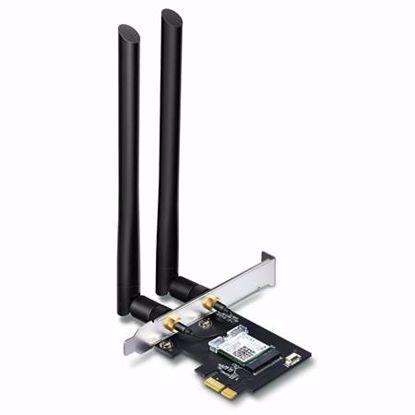 Fotografija izdelka TP-LINK Archer T5E AC1200 Wi-Fi BT4.2 Dual Band PCI express brezžična mrežna kartica