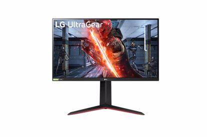 Fotografija izdelka Monitor LG 27'',IPS,16:9,2560x1440,HDMI, DP,izhod za slušalke, VESA, G-sync comp., 1ms, 144Hz, NOV