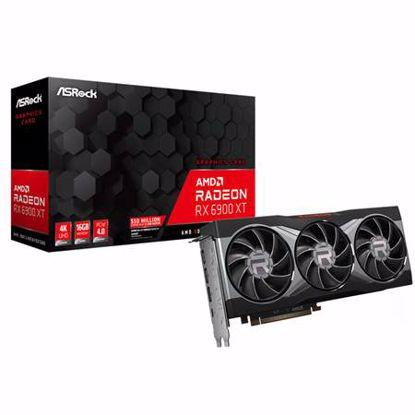 Fotografija izdelka ASROCK Radeon RX 6900 XT 16GB GDDR6 (RADEON RX6900XT 16G) gaming grafična kartica