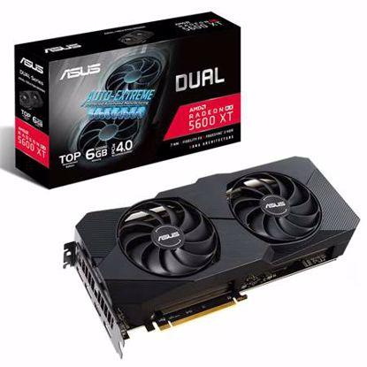 Fotografija izdelka ASUS Dual Radeon RX 5600 XT EVO (DUAL-RX5600XT-T6G-EVO) gaming grafična kartica