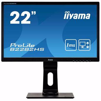 "Fotografija izdelka IIYAMA PROLITE B2282HS-B5 54,7cm (21,5"") TN FullHD zvočniki LED LCD monitor"