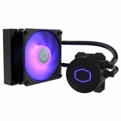 Fotografija izdelka COOLER MASTER MASTERLIQUID ML120L V2 RGB LED vodno hlajenje za procesor