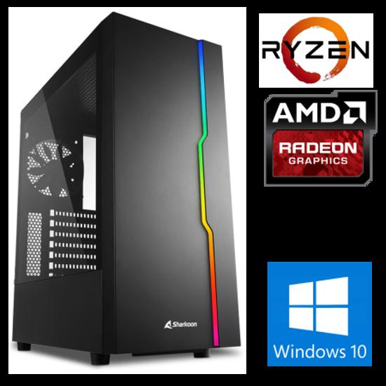 Fotografija izdelka @Gamer Ryzen7 3700X / 16GB / SSD 500GB  NVMe / HDD 3TB / RX5600XT-6GB / W10PRO