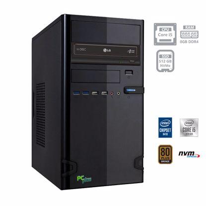 Fotografija izdelka PCPLUS e-office i5-10400 8GB 512GB NVMe SSD DOS