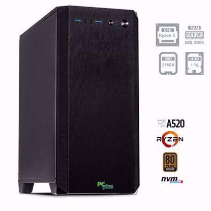 Fotografija izdelka PCPLUS MAGIC AMD Ryzen 5 4650G 8GB 256GB NVMe SSD 1TB HDD W10PRO