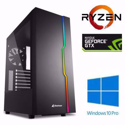 Fotografija izdelka @Gamer Ryzen7 3700X / 16GB / SSD 500GB  NVMe / HDD 3TB / GTX1660-6GB SUPER / W10PRO
