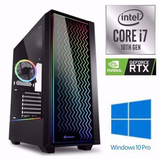 Fotografija izdelka iGamer Core i7-10700F / 16GB / SSD 500GB NVMe / HDD 3TB / RTX 3070 8GB OC / W10PRO